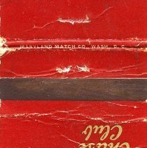 Image of 2010.09.01 - Matchbook Cover