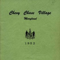 Image of 2010.1002.16 - Chevy Chase Village History, Ordinances & Regulations, Charter