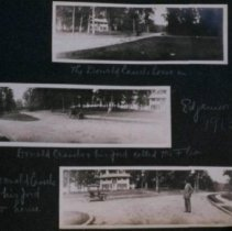 Image of 2010.1041.01 - Photographs of a display of streetcars and street life, about 1890-1910
