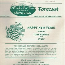 Image of 2010.1103.07 - Section Four Newsletter, Forecast, 1997