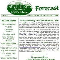 Image of 2011.06.07 - Forecast, Newsletter