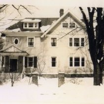 Image of 2012.07.21 - Exterior of 7 West Kirke Street in winter