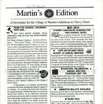 Image of 2014.03.04 - Martin's Edition, May 2014