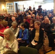 Image of 2014.14.02 - The audience at the CCHS Peggy Seeger event, March 15, 2014