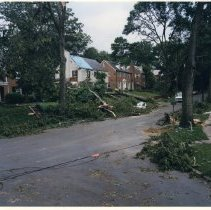 Image of 400.46.01 - Town of Chevy Chase Storm June 1989