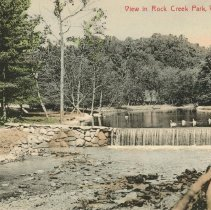 Image of View in Rock Creek Park, M.E. Brooke