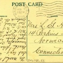 Image of Addressed to Mrs. L. G. Avery, 1909
