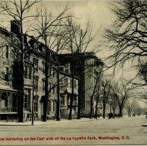 Image of 500.02.57 - Historic Row at Lafayette Park, Washington, DC