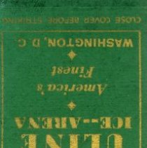 Image of 500.12.02 - Matchbook Cover