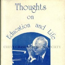 Image of Thoughts on Education and Life