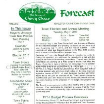 Image of Forecast, April 2013