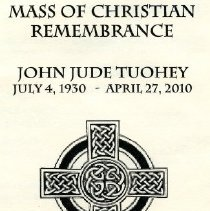 Image of 500.27.09 - Mass of Christian Remembrance for John Jude Tuohey Program