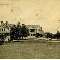 Image of 500.35.01 - Chevy Chase College.  Easter Greetings.