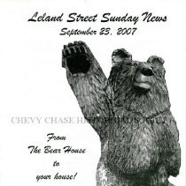 Image of 2015.14.05 - Leland Street Sunday News, September 23, 2007
