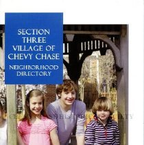 Image of 2015.20.01 - Section Three Village of Chevy Chase Neighborhood Directory