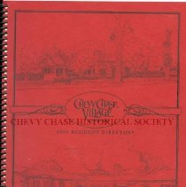 Image of 2015.20.04 - Chevy Chase Village 2009 Resident Directory