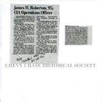 Image of 2015.22.19 - Death Notice James H Robertson