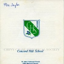 Image of 500.38.19 - Concord Hill School