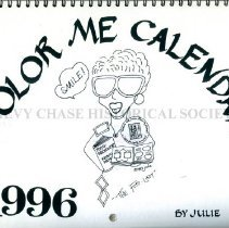 Image of 500.38.22 - Color Me Calendar 1996