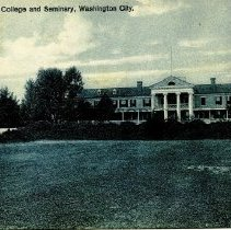 Image of 500.39.11 - Chevy Chase College and Seminary, Washington City.