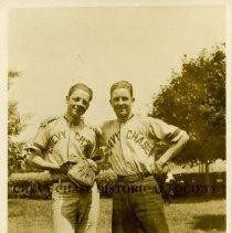 Image of 500.39.27 - Sabin - Dawson Battery, Chevy Chase Baseball Team. -1913-