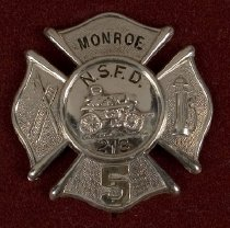Image of Badge, Fire - 00.2419