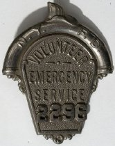 Image of Badge, Fire - 00.2611