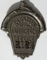Image of Badge, Fire - 00.2639