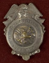 Image of Badge, Fire - 00.2844