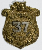 Image of Badge, Fire - 00.2917