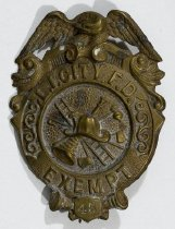 Image of Badge, Fire - 00.2994