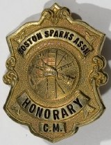 Image of Badge, Fire - 00.4052