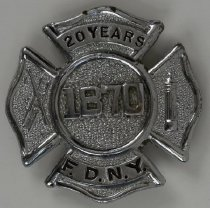 Image of Badge, Fire - 08.313