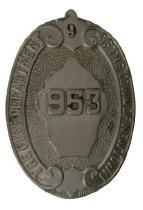 Image of Badge, Fire - 08.348
