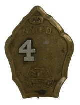 Image of Badge, Fire - 08.357.1