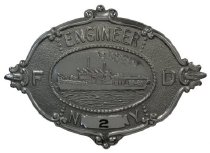 Image of Badge, Fire - 08.373