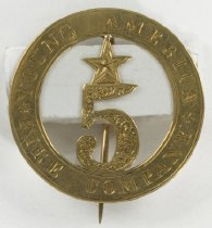 Image of Badge, Fire - 09.120