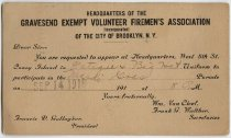 Image of New York City Fire Museum Collection - Postcard