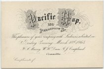 Image of New York City Fire Museum Collection - Ticket