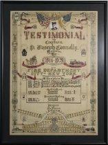 Image of Certificate, Appreciation - 09.826