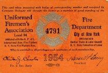 Image of Card, Membership - 2013.0537