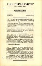 Image of Joseph Frank Kuhn Collection - Orders, Departmental
