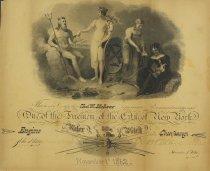 Image of Certificate, Membership - 2012.1150