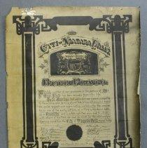 Image of Burr Plato Family Sympathy Certificate