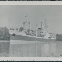 Image of Ship in the Welland canal