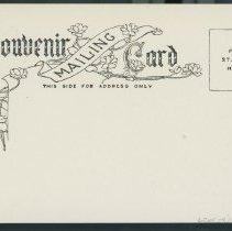 Image of Postcard back - verso