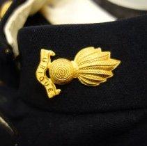 Image of RCA dress uniform collar - detail