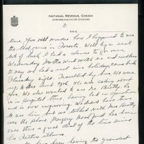 Image of Letter to Charles Shriner from father, page 2