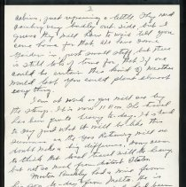 Image of Letter to Charles Shriner from father, page 3