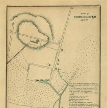 Image of Map of Battle of Bridgewater